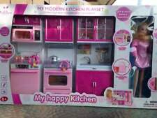 Toys for Girls 6 7 8 9 10 11 Year Old Age Kitchen Playset Pretend Cooking + Doll