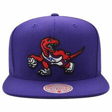 Toronto Raptors NBA TEAM GROUND Snapback Mitchell & Ness Hat - Purple/Red