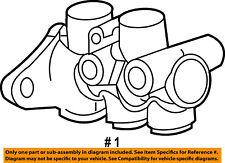 Dodge CHRYSLER OEM 07-11 Caliber-Brake Master Cylinder 5175701AA