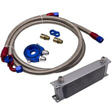 Universal 13 Row An-10an Engine Oil Cooler Radiatore Olio + Filter Adapter Kit