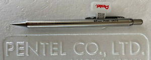 New Pentel Stainless Steel S475 0.5mm Mechanical Pencil - Beautiful Pencil!
