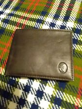 Men's Nautica Wallet Brown Leather New Old Stock With Tags