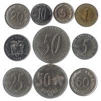 10 COINS FROM REPUBLIC OF ECUADOR. SOUTH AMERICAN ECUADORIAN OLD COLLECTIBLES