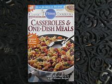 "Pillsbury Classic Cookbook ""Casseroles & One Dish Meals"" #140 ~ 1992..LN!"