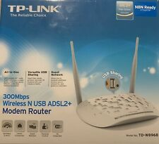 TP-LINK 300Mbps Wireless N USB ADSL2+ Modem Router