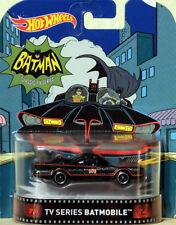 Batmobile 1966 TV Serie Batman in 1:64 Hot Wheels DJF46 Retro Entertainment