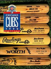 1990 Chicago Cubs Official  MLB Yearbook jmc2