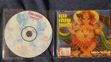 DEAD FREAKS SOCIETY - BORN TO BE FREAK. CD SINGLE ITALIAN ROCK 3 TRACKS