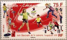 New Caledonia Nueva Caledonia 2010 1538 olímpico juventud juegos deporte singapur mnh