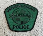 Maywood-Cudahy California Police Shoulder Patch Subdued Green Black