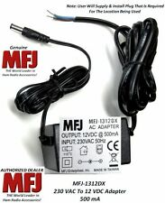 MFJ 1312DX - 230 VAC To 12 VDC At 500 MA, Power Most MFJ Devices With This