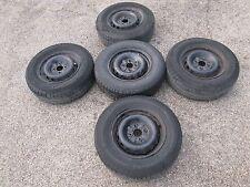 Set 5 gomme con cerchi originali da 14 Alfa Romeo 75. (4 fori)   [5575.16]