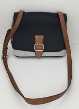 NWT Burberry Small Black Shellwood Canvas Check Crossbody Handbag Purse  795 47d331bb506b1