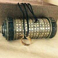 For Valentine's Day Da Vinci Code Mini Cryptex Christmas E9G6 Password Loc V1J3