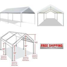 Caravan CANOPY TENT Heavy Duty 10x20 Steel Carport Portable Car Shelter Garage