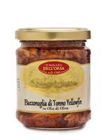 Pezzetti di tonno (BUZZONAGLIA) in olio di oliva vaso da 200g