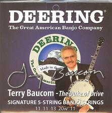 Deering 5 String Banjo Strings Signature Terry Baucom Set 11 11 13 20w 11