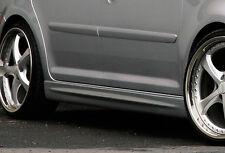 Optik Seitenschweller Schweller Sideskirts ABS für Opel Astra G 3-türer