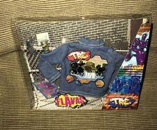 New Mattel 2003 Flavas Tre Hip Hop  Denim Jacket & Accessories
