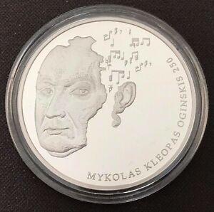 Lithuania 20 euro 2015    250th Anniversary - Birth of Michał Kleofas Ogiński