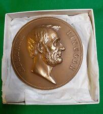Abraham Lincoln Medal-75mm originally designed by engraver George T. Morgan