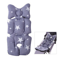 New Baby Kids Soft Car Seat Stroller Cushion Pad Mat Head Body Support Pillow