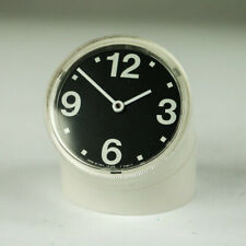 Tischuhr Ritz Italora Design Pio Manzù elektromech. Vintage Table Clock 60s-70s
