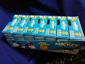 NEW 2021 Disney Wonder Mates Mickey and Friends (7 factory sealed) Case