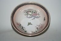 Vintage Antique Ceramic China Butterfly Floral Bombom Dish Platters Handcrafted