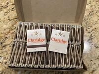 50 Matchbook Lot Box of Claridge Atlantic City New Jersey Casino Matches