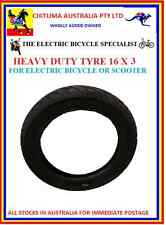 TYRE ELECTRIC BICYCLE 16 X 3 ALSO REPLACES 16 X 2.50