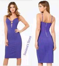 NWT bebe Strappy Plunge Midi Dress SIZE XL Exquisite sexy elegance $148