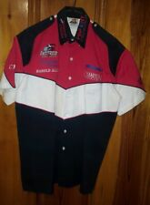 Vintage PROFESSIONAL Fishing Tournament Jersey embroid/ patches, TUFF BASSMASTER