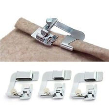 3Sizes Rolled Hem Presser Foot #19012 for Singer,Janome&Other Low Shank Adapter