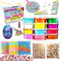 ESSENSON Slime Kit Slime Supplies Make Your Own Clear Crystal Slime Foam Slime G