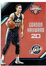 Gordon Hayward 2015-16 Panini Totally Certified, Mirror Red, /149 !!