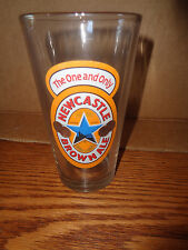 New Castle Brown Ale - Pint Beer Glass - The One And Only
