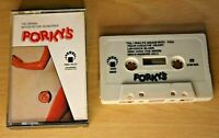 ULTRA RARE Porky's OST Soundtrack Audio Tape Cassette 1981 IMD 8523 FREE Post