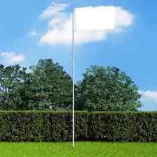 More details for vidaxl telescopic flagpole 4 m aluminium weather resistant outdoor flag pole