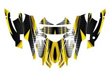 Arctic Cat Sabercat Firecat Graphics 2003 2004 2005 2006  F5 F6 F7 #1900 Yellow