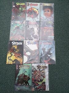 11 Spawn Comic Collection