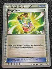 Pokemon TCG : 4 X MEGA TURBO 86/108 World Championship PROMO Uncommon