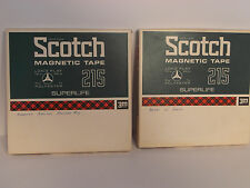SCOTCH Magnetic Tape #215  7 in Reel Recording Tape Used