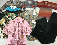 Vintage 60s Wholesale Lot 10 Pc Hippy Clothes Women S Retro Boho Disco Deadstock