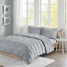 Intelligent Design Avery Reversible Brick Design 3-Pc. Comforter Set -KING- Grey