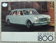 MORRIS 1800 Car Sales Brochure May 1966 #H&E 2339