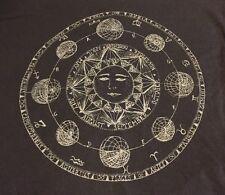 brandy melville John Galt Astrology Sun 🌞 Muscle Crop Top Gray New 🌸