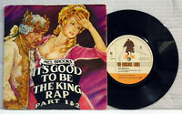 """Mel Brooks - It's good to be the king rap  7"""" vinyl 45 RPM  single record LUG 02"""