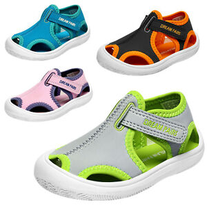 Toddlers Little Kid Girls Boys Sandals Closed toe Cute Water Shoes