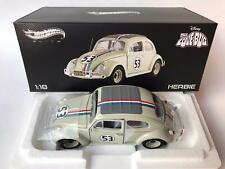 Hot Wheels Elite Herbie THE LOVE BUG 1/18 BCJ94